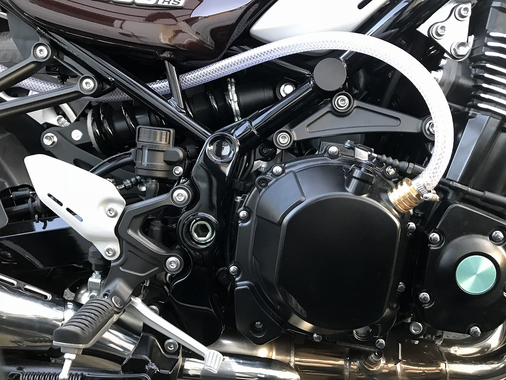 【Dr,Z】 Z900RS専用 真鍮4段ブリーザースタイルキット